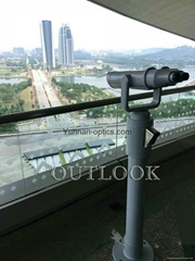 coin operated binoculars 25x100,sell well both at home and abroad (Hot Product - 1*)