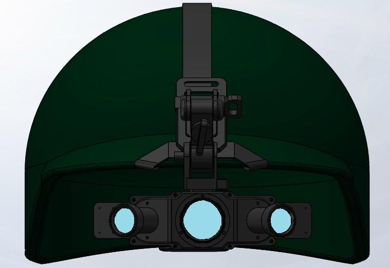 Night vision telescope