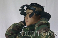 單兵夜視望遠鏡也稱單兵夜視眼鏡是一種高科技高精密的光電子產品