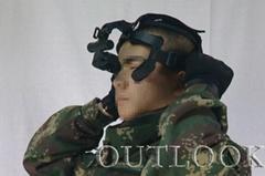 单兵夜视望远镜也称单兵夜视眼镜是一种高科技高精密的光电子产品