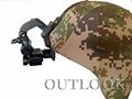 Infrared thermal night vision goggles