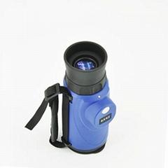 YJT8X42藍色帶羅盤單筒昆明望遠鏡放飛你的視野