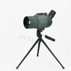 馬卡鏡25-75X70高倍望遠鏡觀鳥鏡(軍綠色)