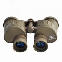 Small size 6x30 military binoculars