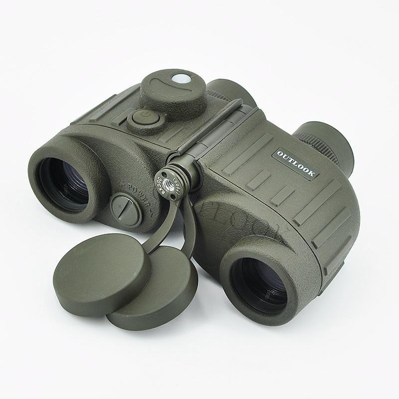 雙筒望遠鏡8X30C防水獨立調焦帶羅盤