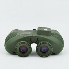 Waterproof 7x50 marine binoculars with compass