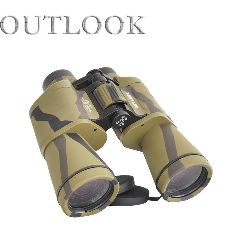 High power binoculars