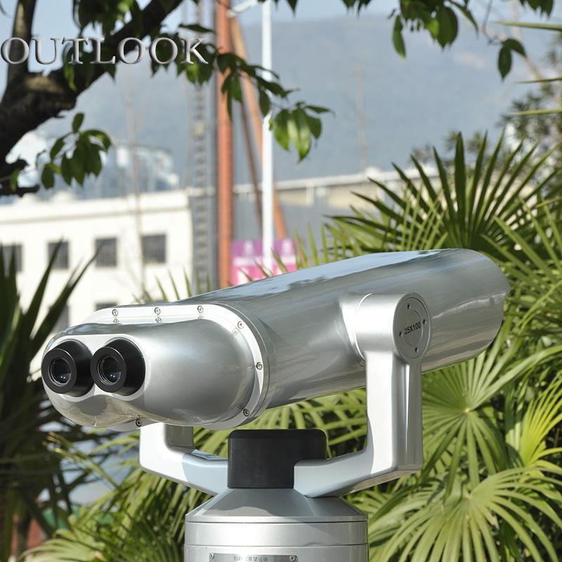 投幣式高倍望遠鏡