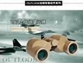 High resolution military 6x30 binoculars