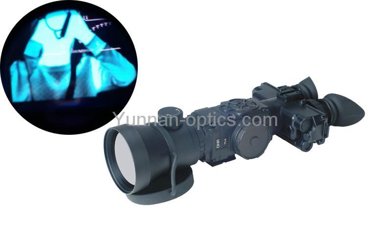 白天和黑夜都能用的夜视望远镜,性价比很高的热像仪,热像观察镜 1
