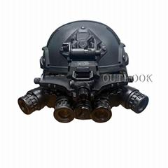 Night Vision Quad Goggle (Hot Product - 1*)