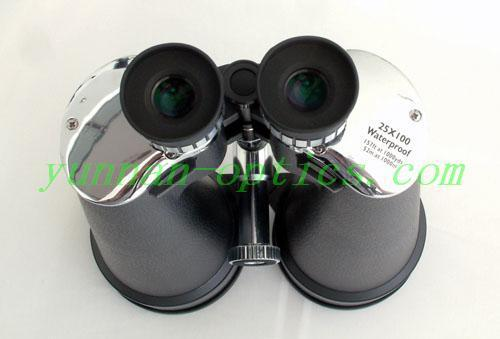 Outdoor binocular 25X100,high power heavy calibre 3