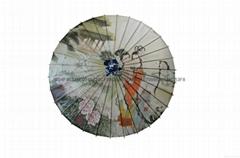 Chinese paper umbrella,o