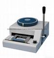 Manual Magnetic PVC Plastic Credit Card Embosser Embossing Machine
