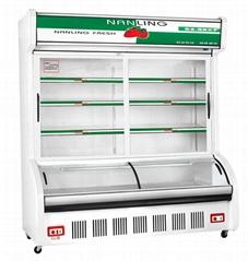 佛山百凌制冷设备厂1.4米点菜柜