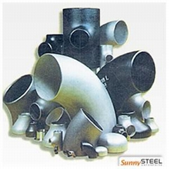 Steel pipe fittings series list