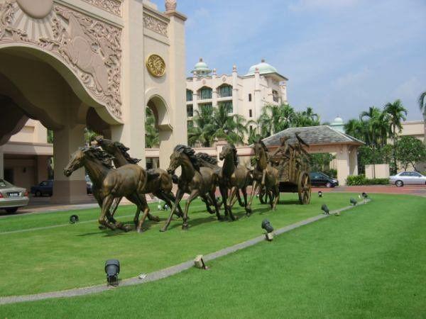 廣州駿馬雕塑 1