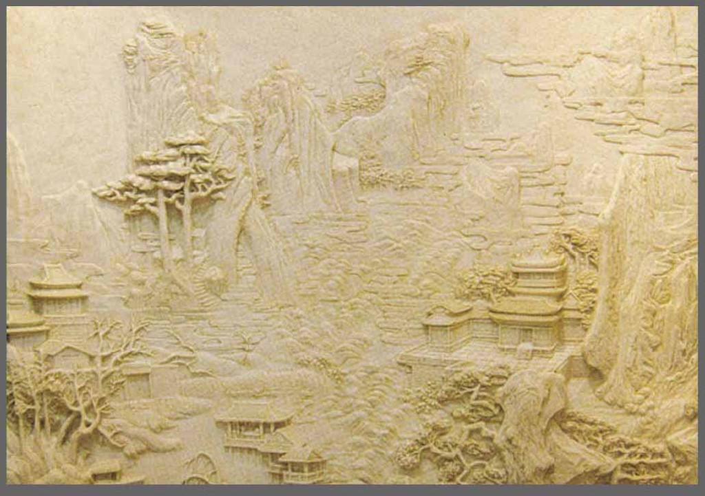 廣州砂岩浮雕壁畫 1
