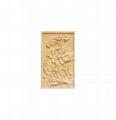 广州砂岩浮雕荷花图