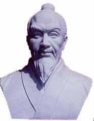 廣東名人肖像砂岩雕塑 1