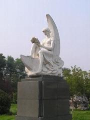 广州校园景观砂岩雕塑