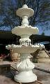 砂岩流水盆喷泉 4