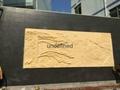 砂岩浮雕歌舞仕女壁画 3
