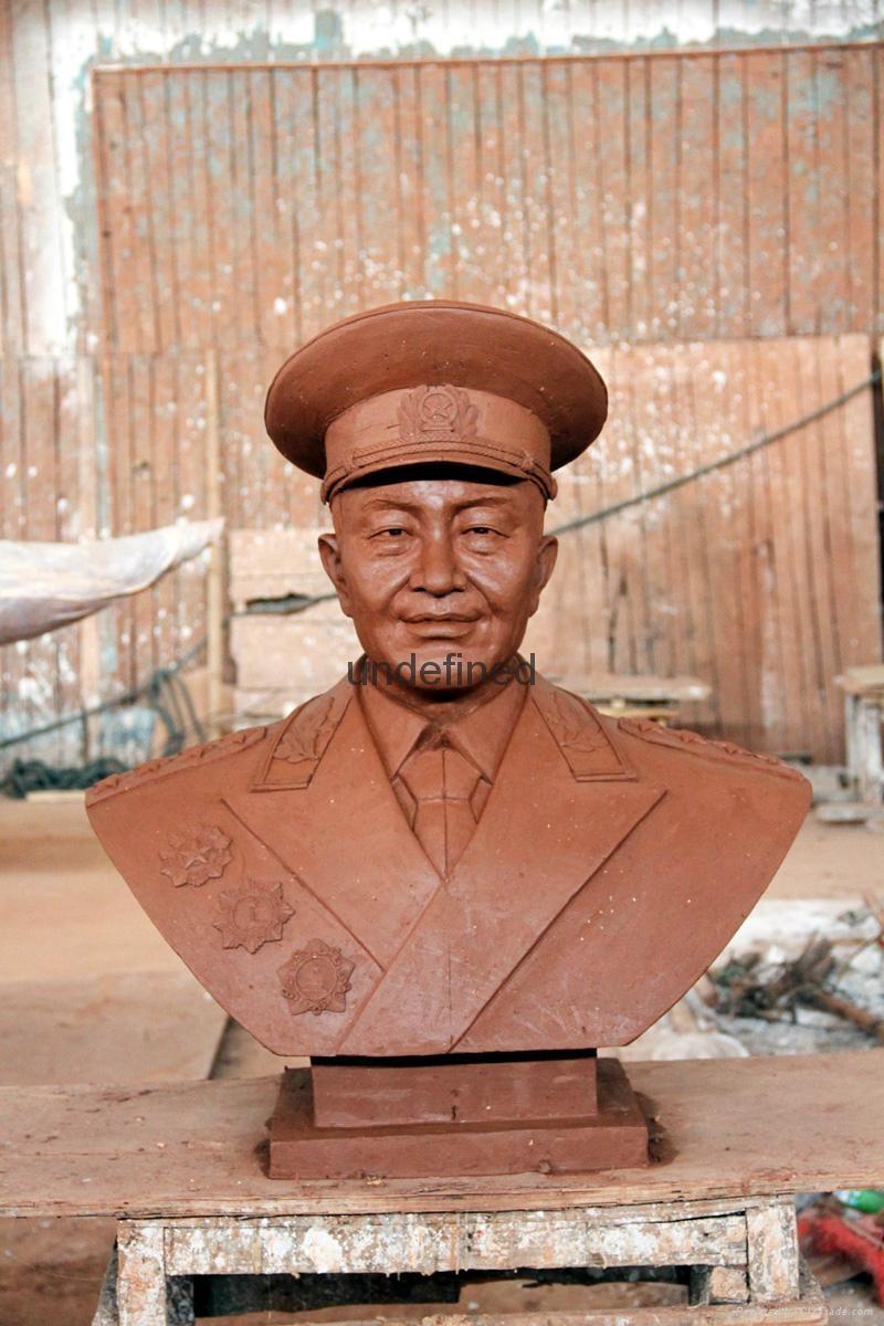 广东名人肖像砂岩雕塑 4