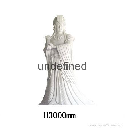 番禺砂岩人物雕塑 3