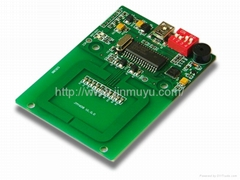 sell 13.56MHz rfid module JMY608 Interface USB HID standard