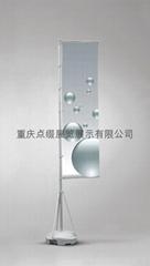 重庆注水5米旗杆刀旗