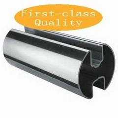 不鏽鋼異型管-180°圓雙槽管
