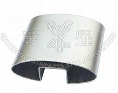 Stainless steel oval slo