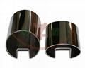 oval slot tube