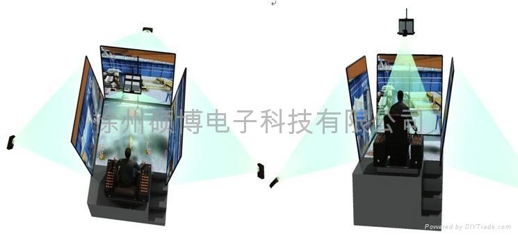 WM系列港口起重机模拟器 3