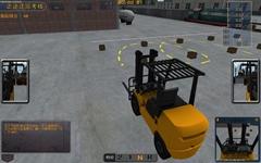 2018款叉車模擬機