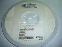 SMD resistor 0805 1%  1 ohm - 1M   5000/REEL RC0805FR-071RL