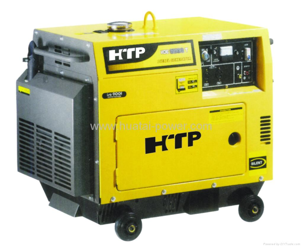 Electric Generators PD6500T POWERFRIEND China Manufacturer