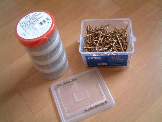桶装和盒装纤维板螺丝 1