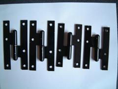 H 型黑漆铰链