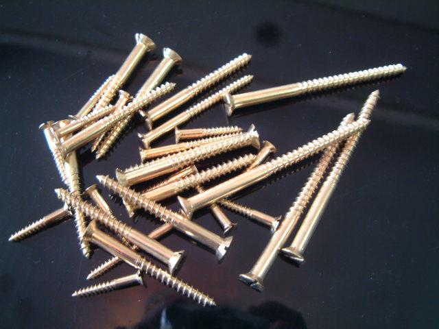 銅木螺絲 1