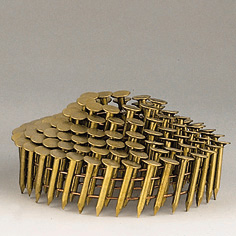 E. G. COILED ROOFING NAILS