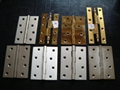 COATING SQUARE HINGES AND SOLID BRASS H HINGES 1