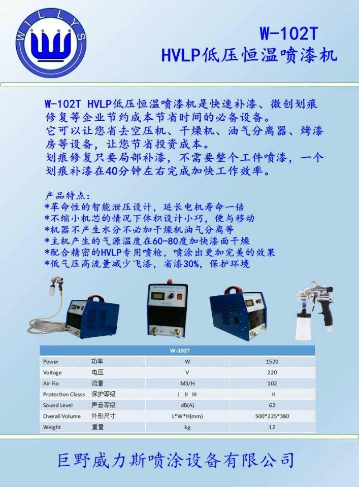 威力斯hvlp低壓噴漆機廠家可定製加工貼牌 培訓 3
