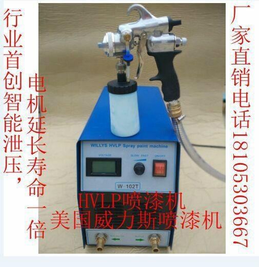 青島威力斯HVLP電動噴漆機 3