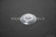 直径55mm蘑菇头双层PVC吸盘