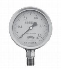 安全型不鏽鋼壓力表