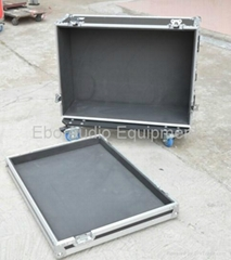 flight case for carrying projector