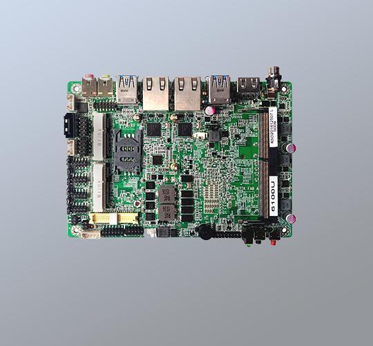 3.5寸工業主板6代處理器 1