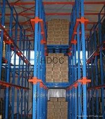 天津北京瀋陽河北貫通式貨架生產廠家